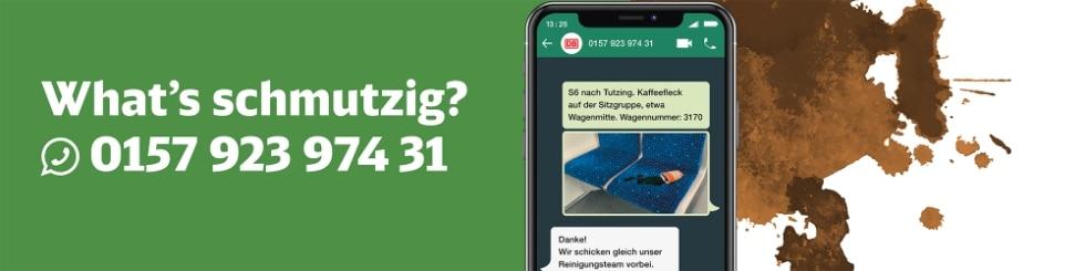 What's schmutzig? Tel.: 0157 92397431