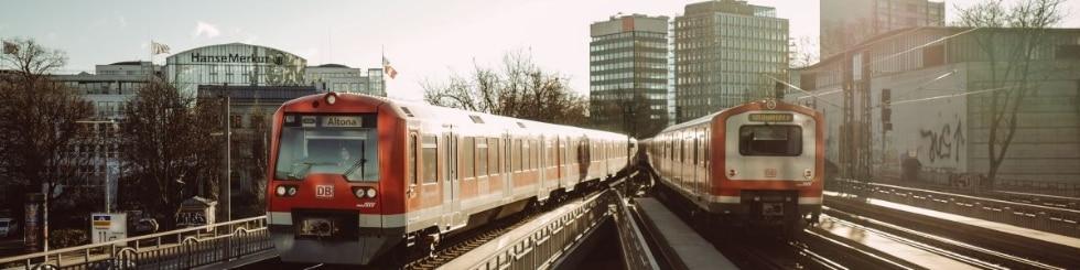 Züge der S-Bahn Hamburg