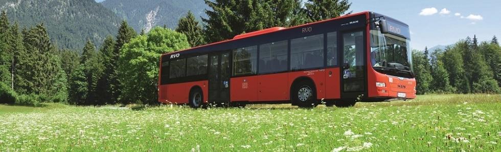 Oberbayernbus im Frühling