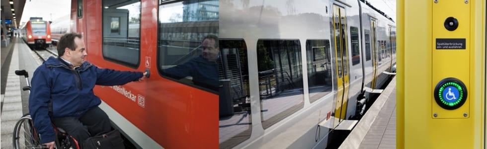 Barrierefrei reisen mit der S-Bahn Rhein-Neckar