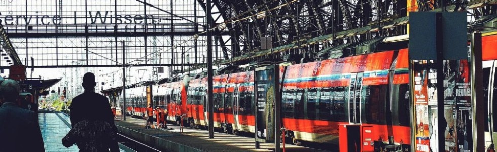 Bahnsteig S-Bahn Hamburg
