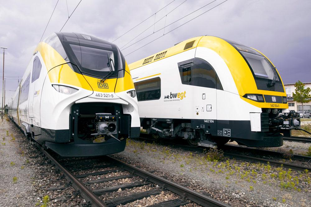 Mireo und der Desiro HC von Siemens