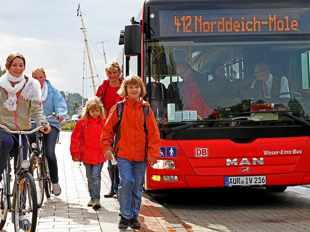 Urlauberbus © H.-D. Budde