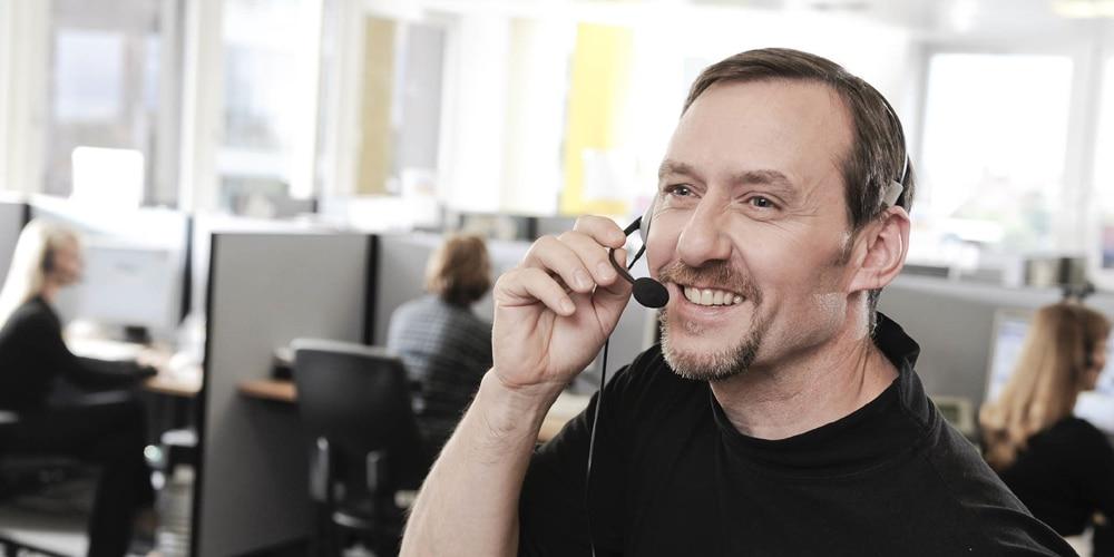 Frank Müller, Telefonagent im BahnCard Service