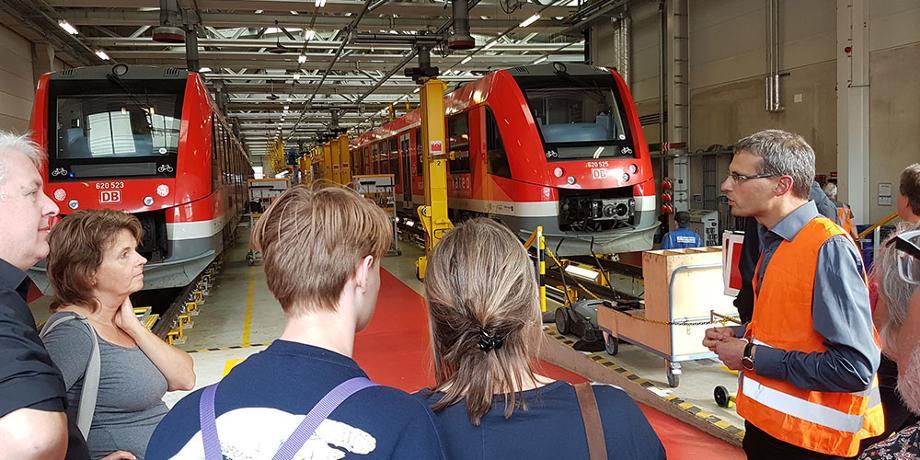 DB Werkstatt in Köln-Deutz