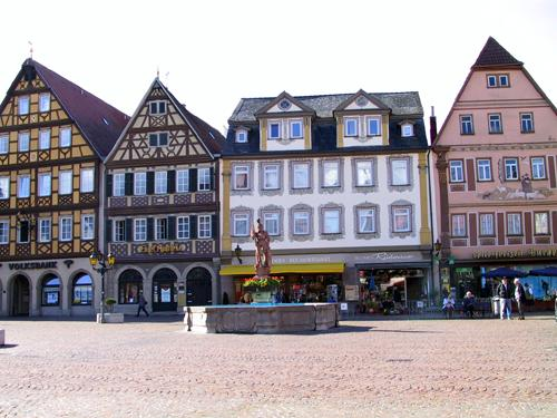 Platz in Mergentheim