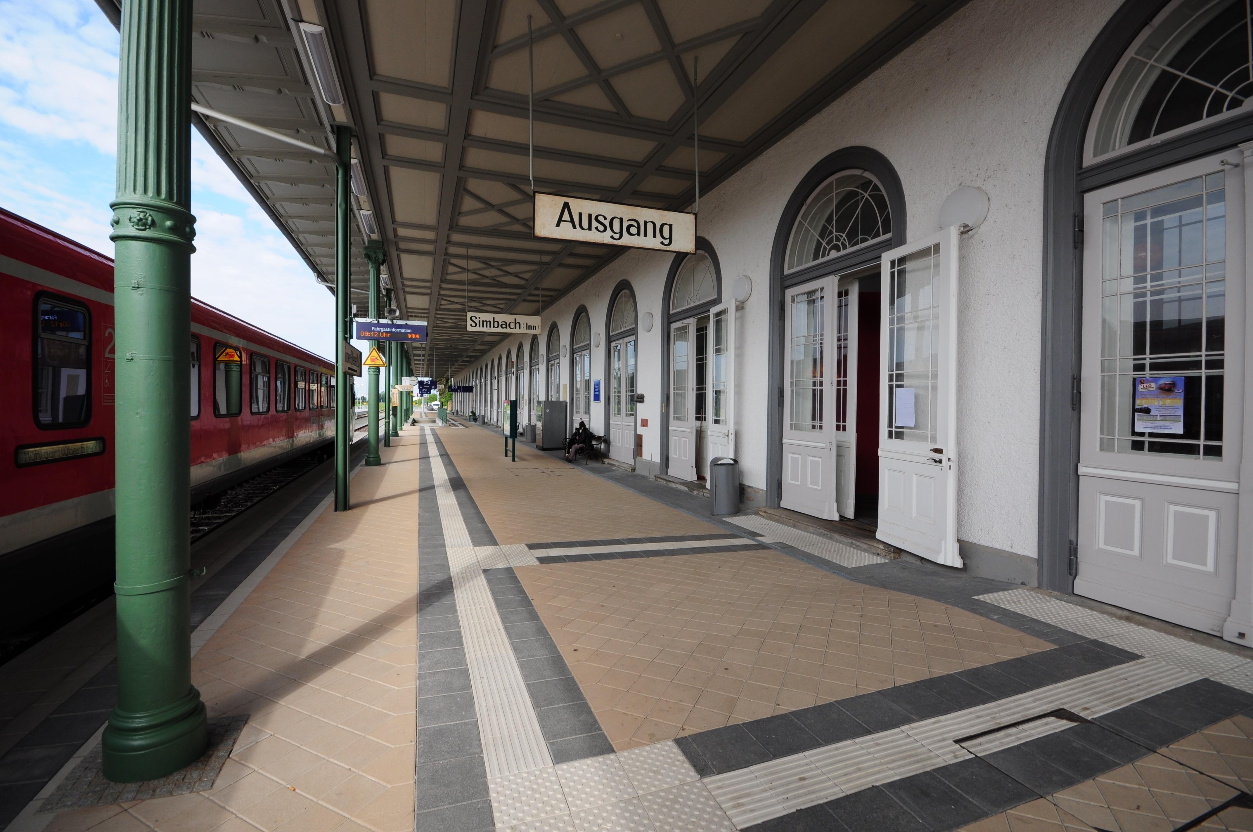 Bahnhof Simbach