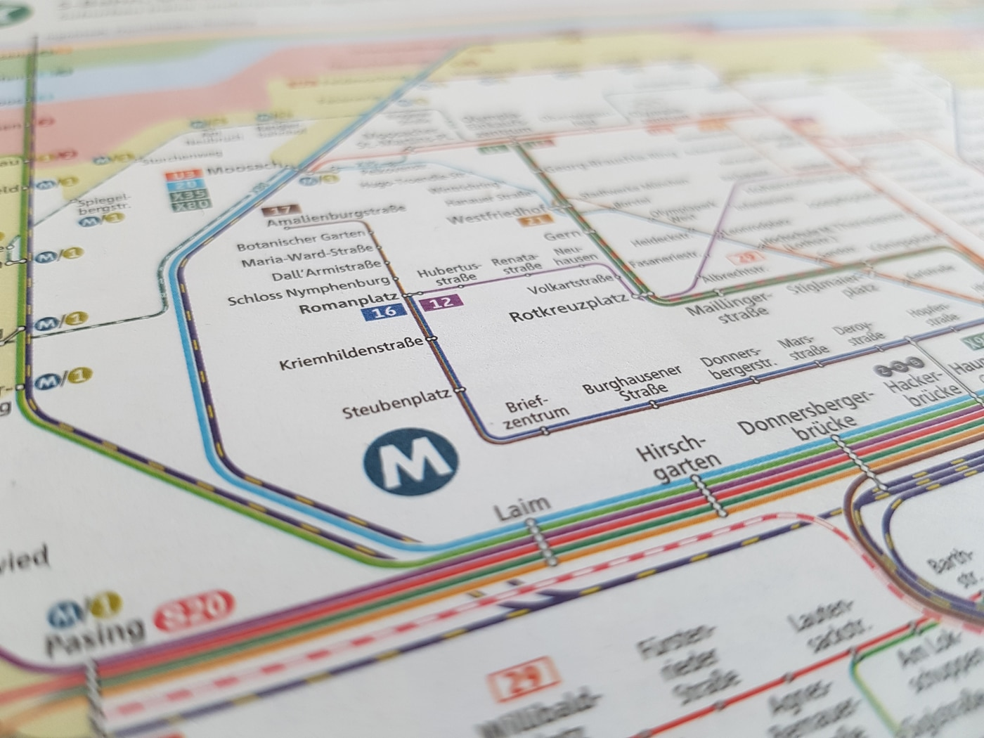 Mvv tageskarte Streifenkarte