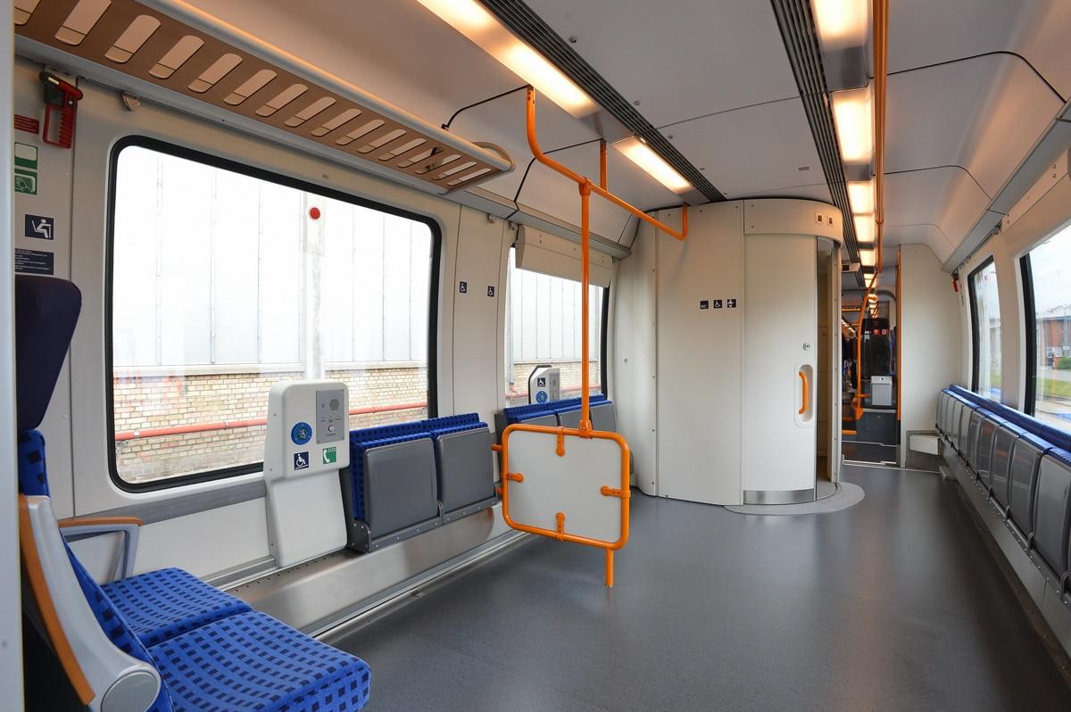 Innenraum S-Bahn