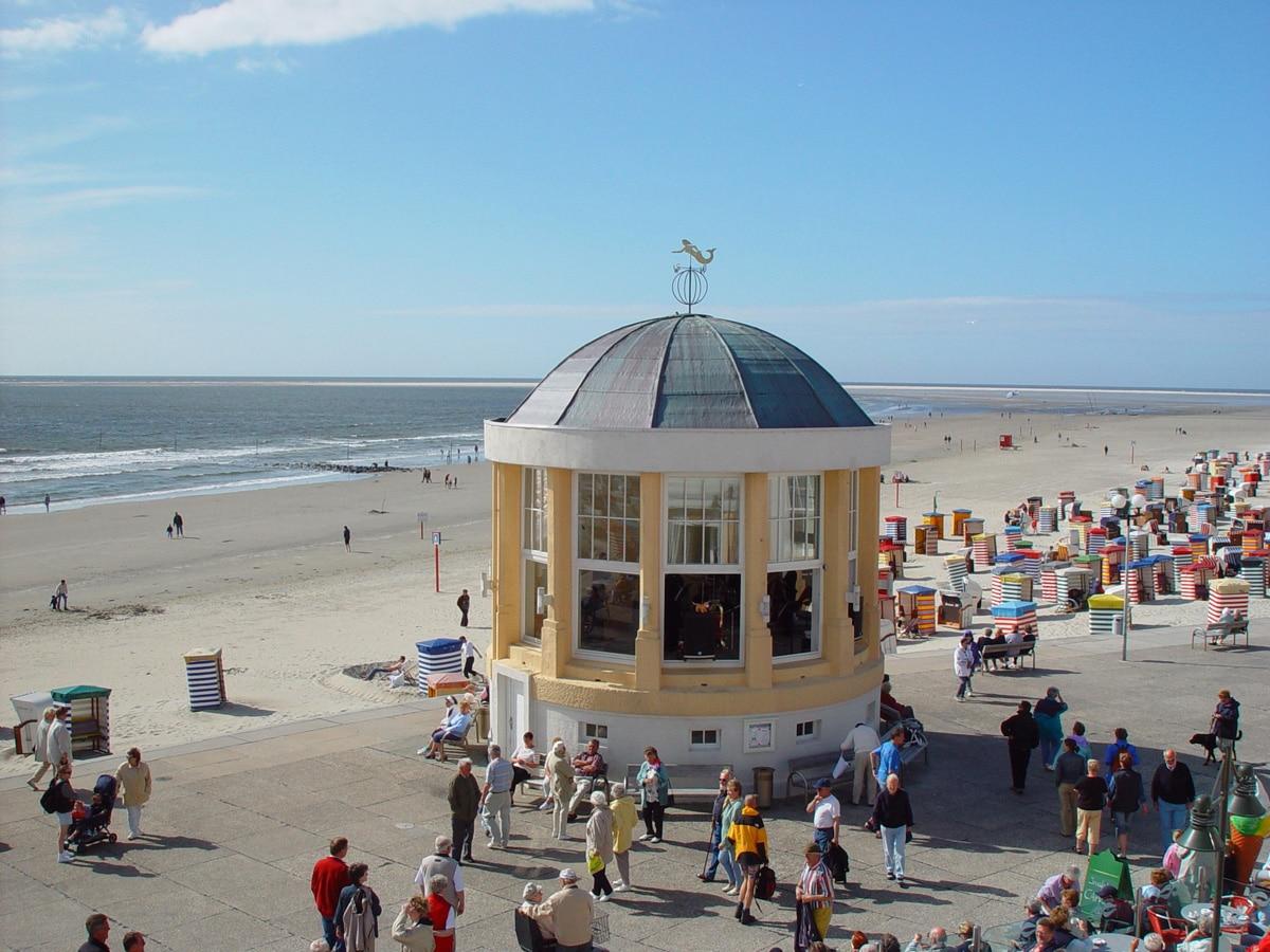 Borkum Strandpromenade