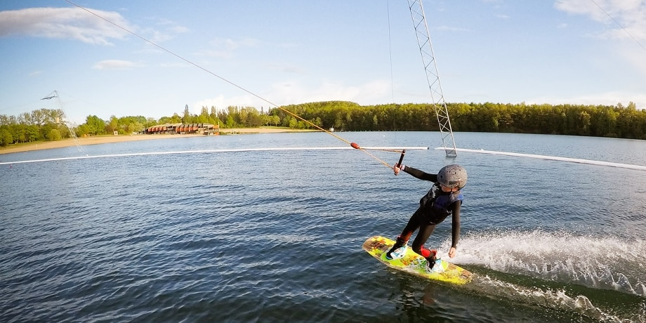 Wakeboarder, See