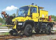 Zwei-Wege-Unimog U400