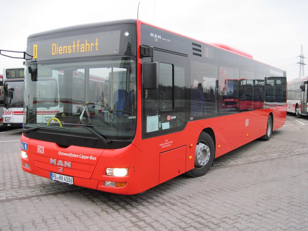 BBH-Bus Dienstfahrt