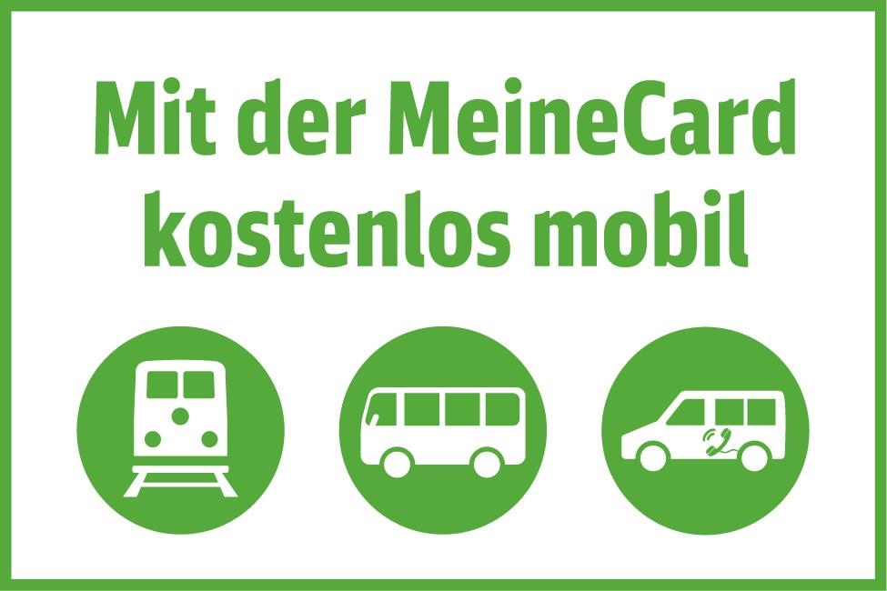 Mit der MeineCard kostenlos mobil