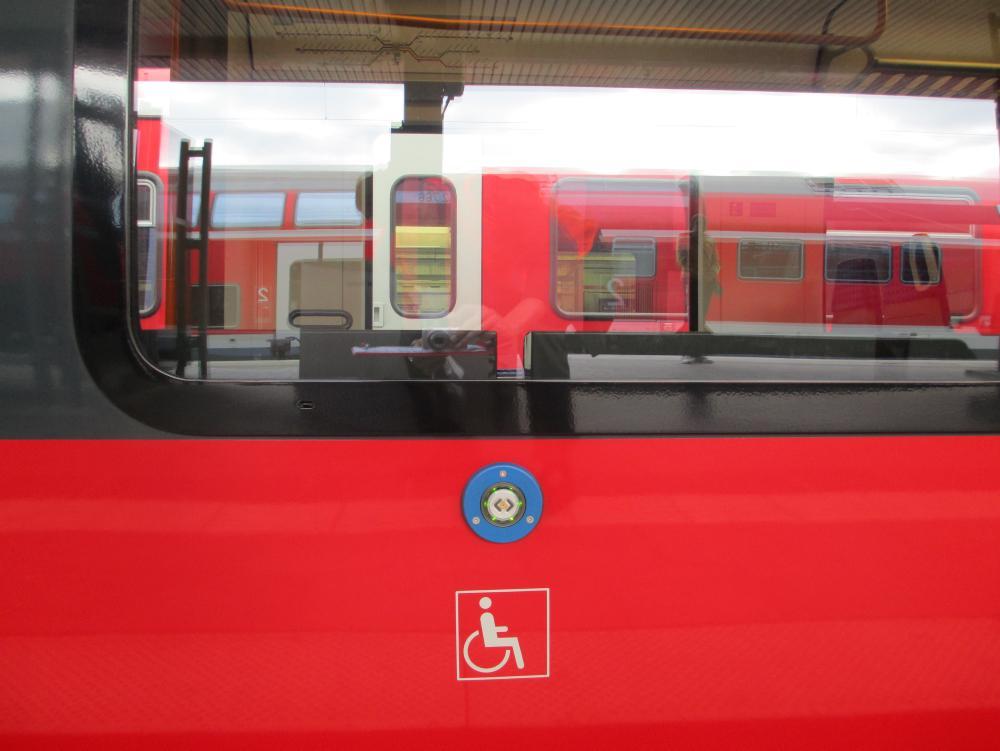 Anforderungstaster Rollstuhlrampe