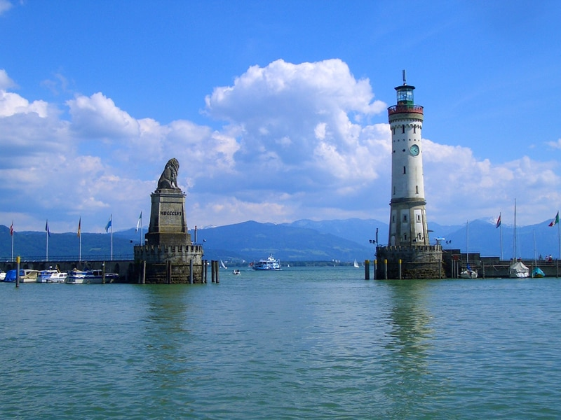 Lighthouse at Lake Constance