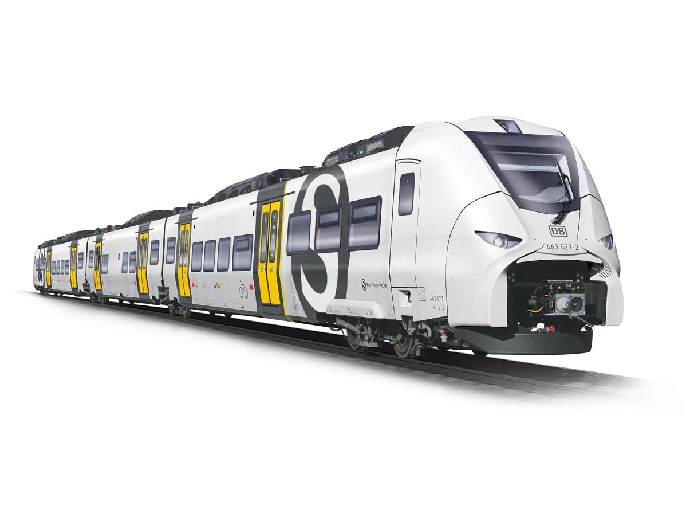 Neufahrzeug Mireo S-Bahn Rhein-Neckar zum Einsatz im Los 2