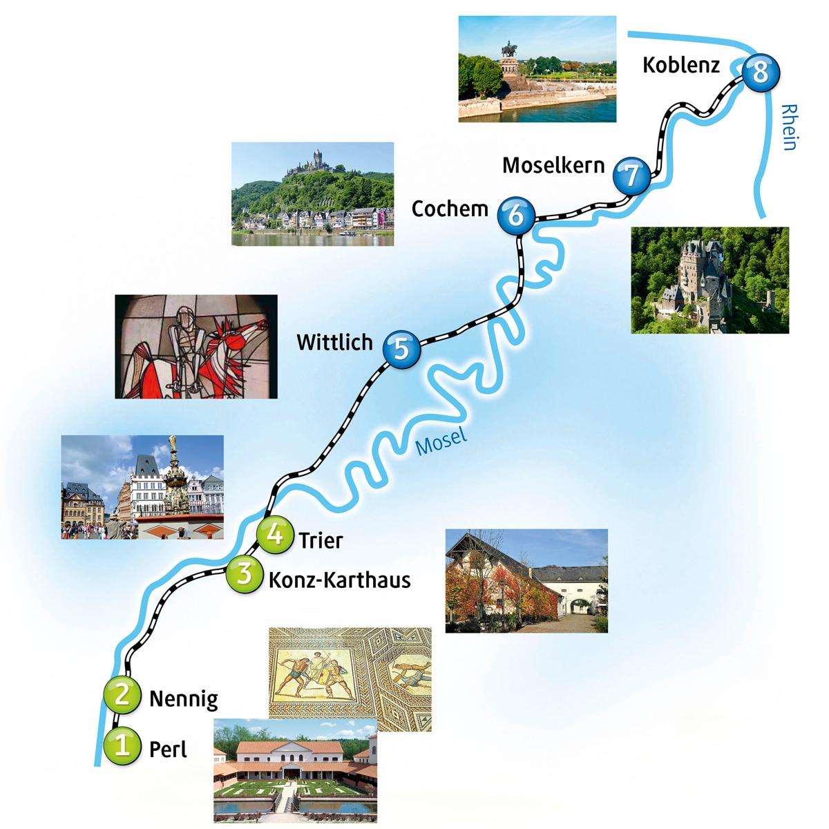 Tourismus-Tipps mit der Moseltalbahn