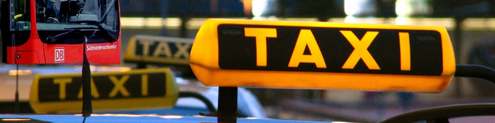 Taxi-Schild