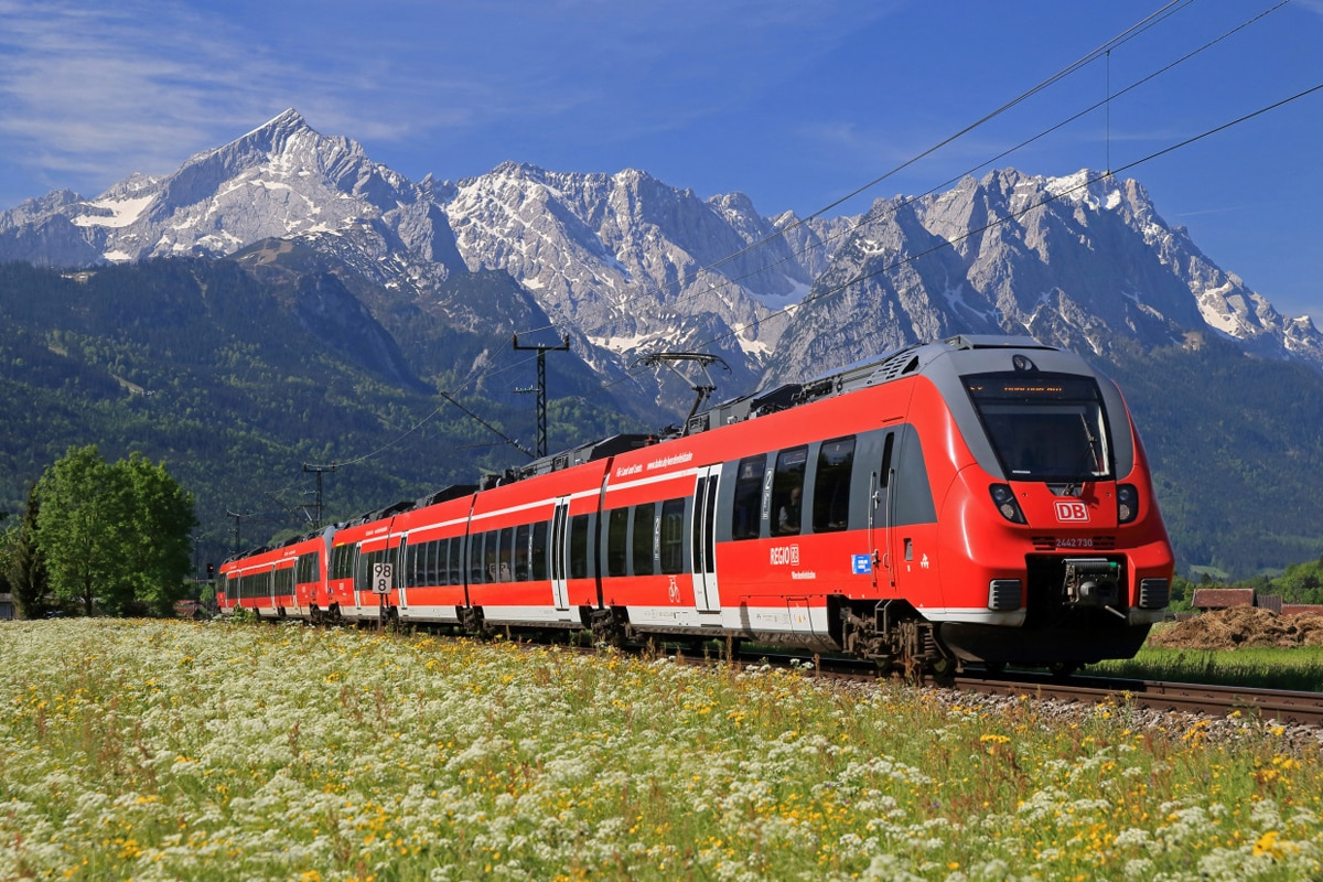 Regionalbahn, Regio Oberbayern, Zugspitzmassiv