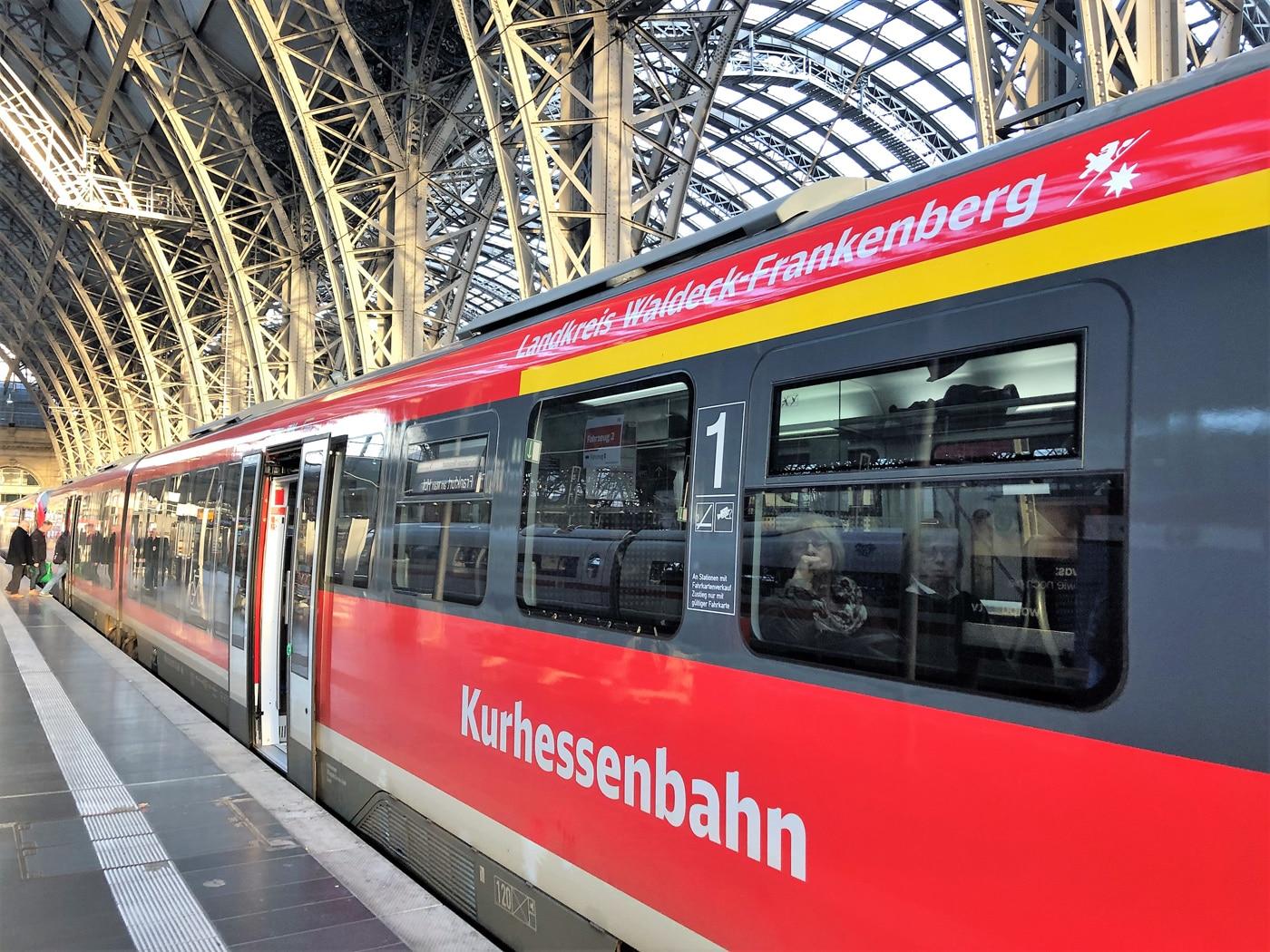 Zug der Kurhessenbahn