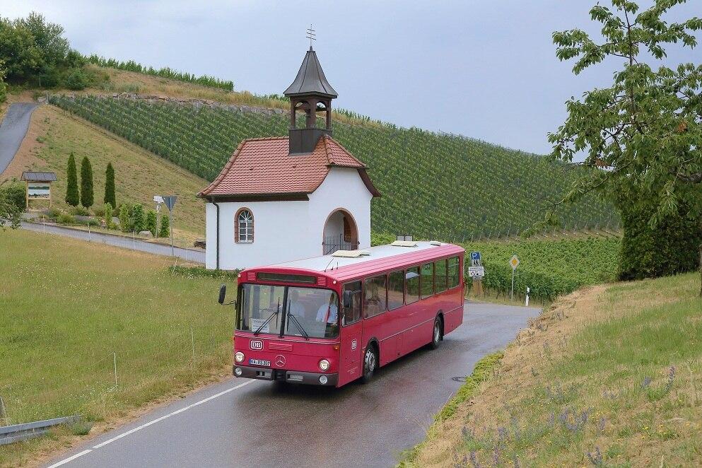 historischer Bus (SEV)