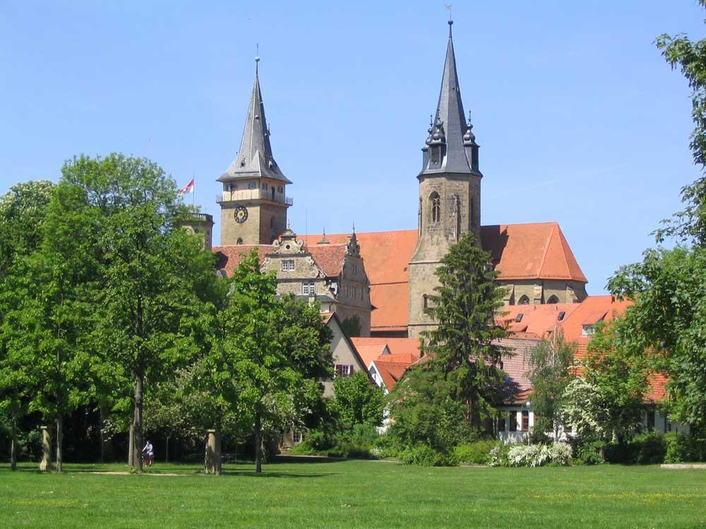 Stadtkirche und Schloss Öhringen