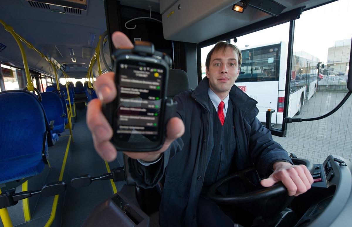 Moderne Apps für den Busfahrer, RBL